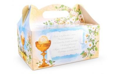Pudełko na ciasto komunijne