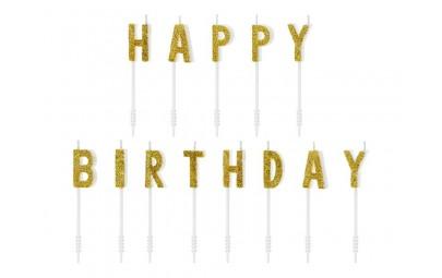 Świeczki urodzinowe Happy...