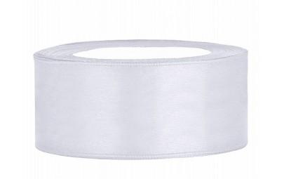 Taśma satynowa biała 25mm x...