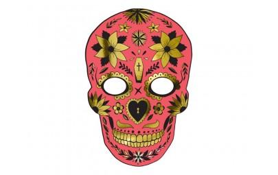 Maska Dia de Los Muertos