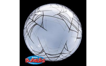 Balon 24 pajęczyna bubble