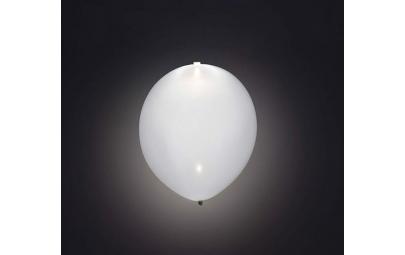 Balon Led biały 4 szt.
