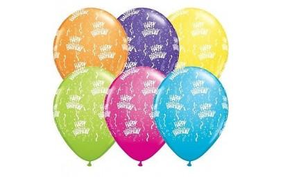 Balon 11 Happy Birthday mix...
