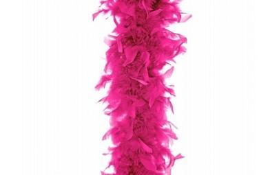Boa neonowy róż 180cm