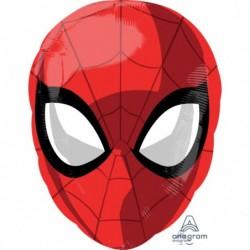 Balon foliowy 17 Spider-Man głowa