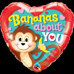 Balon foliowy 18 małpka...