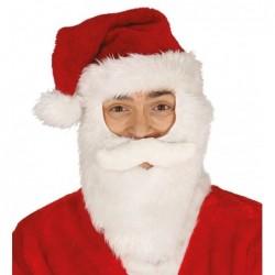 Czapka Mikołaja z brodą