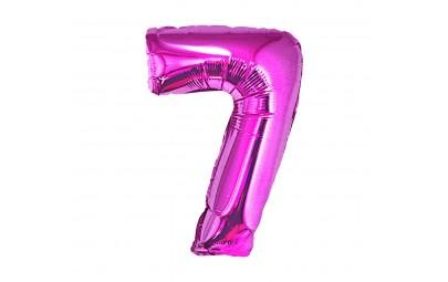 Balon foliowy cyfra 7...