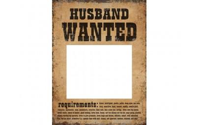 Tabliczka Husband Wanted i...