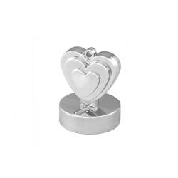 Obciążnik serce srebrne 110g