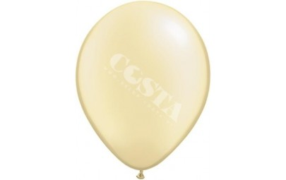 Balon 1M kremowy metaliczny...