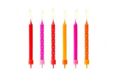 Świeczki urodzinowe...