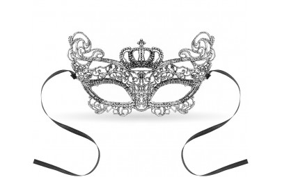Maska ażurowa Srebrna Królowa