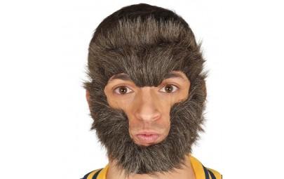 Maska Małpa czarna