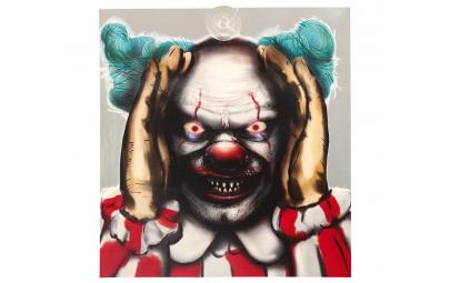 Dekoracja clown oswietlony...