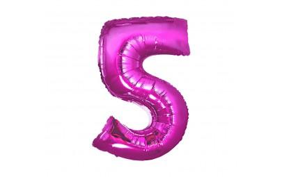 Balon foliowy cyfra 5...