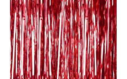 Kurtyna party czerwona...