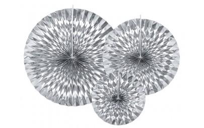 Rozety dekoracyjne srebrne...