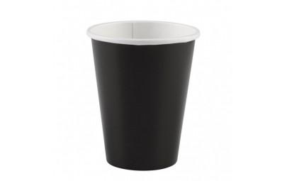 Kubek papierowy czarny...