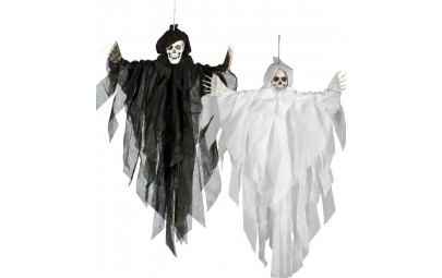 Szkielet wiszący kościotrup...