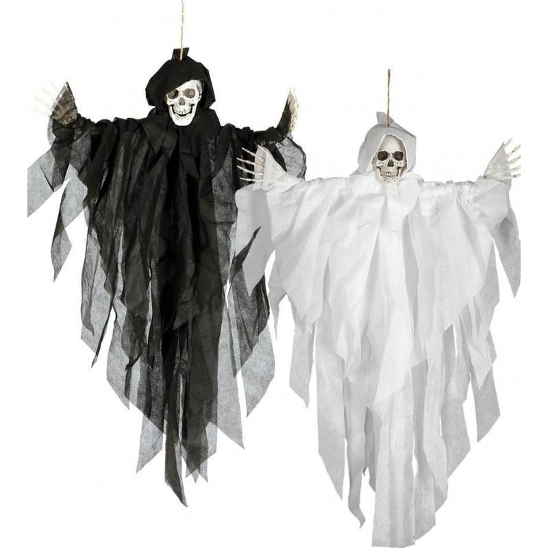 Szkielet wiszący kościotrup duch halloweenowy 75cm