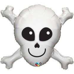 Balon foliowy 32 czaszka i...