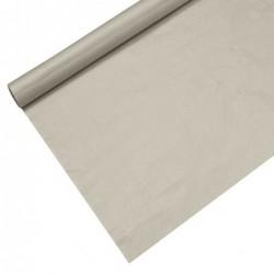Obrus papierowy lakierowany srebrny 6x1,2m art.86577