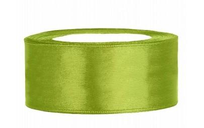 Taśma satynowa zielone...