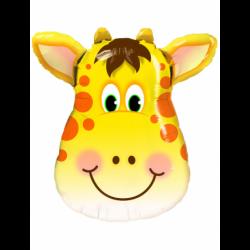 Balon foliowy 32 głowa żyrafy