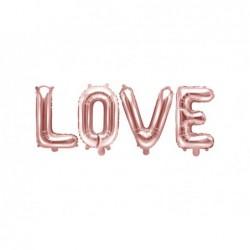 Balon foliowy LOVE różowe...