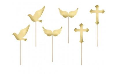 Dekoracje do muffinek na Chrzest/Komunia