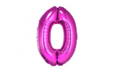 Balon foliowy cyfra 0...