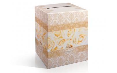 Pudełko na telegramy złote...