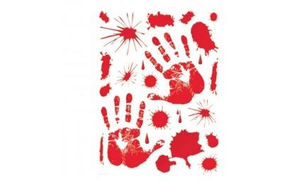 Krwawe ślady 30x39cm