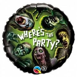 Balon foliowy 18 zombi party