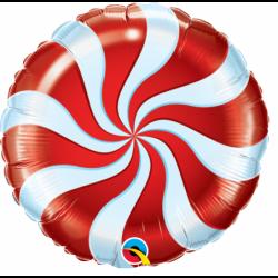 Balon 18 lizak czerwony