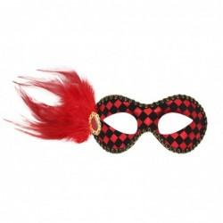 Maska dama czerwona