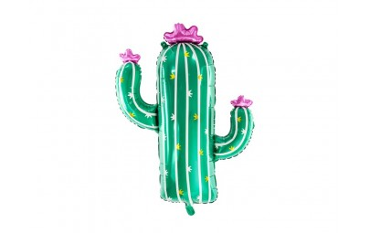 Balon foliowy Kaktus 60x82cm
