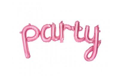 Balon foliowy Party różowy...
