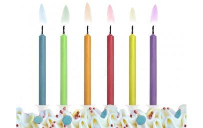 Świeczki Kolorowe Płomienie...