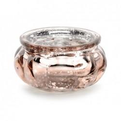 Świecznik różowe złoto 3cm