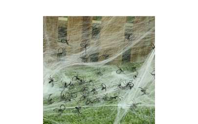 Sztuczne małe pająki...