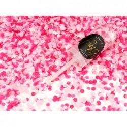 Konfetti Push Pop 8mm różowe