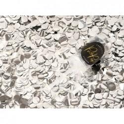 Konfetti Push Pop 8mm srebrne