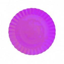 Talerz papierowy fioletowy...