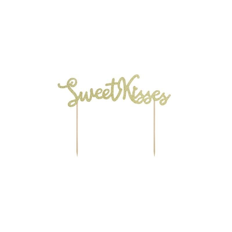 Topper na tort Sweet Kisses 25cm