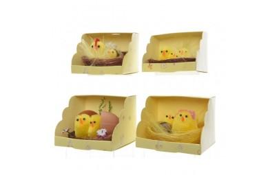 Kurczaki w gnieździe 6x4cm