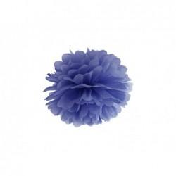 Pompon bibułowy granatowy 25cm