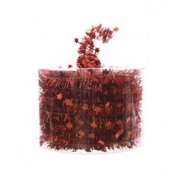 Girlanda gwiazdki czerwona 3,5cm x 7m