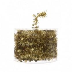Girlanda gwiazdki złota 3,5cm x 7m